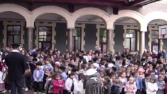 2017-12-22 Olentzero - Salesianos II (gpmendiola) Tags: salesianos deusto olentzero navidad