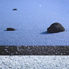 361 : 365 : VI (Randomographer) Tags: project365 365 snow drift texture dark sparkle winter ground wind blown minimal frozen water cold ice rock stone layered graphic design montage 361 vi