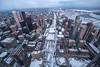 Winter City from Above (~EvidencE~) Tags: toronto cntower winter anniversary 222 takemetochurch viewfromabove evidence quigg timestandsstillcom nikon nikond750