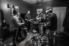 Town Mountain 2017-12-15 (Asheville, NC) (David Simchock Photography) Tags: asheville bw davidsimchock davidsimchockphotography frontrowfocus mannafoodbank nikon northcarolina theorangepeel townmountain avl avlent avlmusic backstage band blackandwhite concert event image livemusic music musician performance photo photography usa