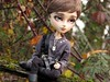 The Rest Of The Warrior (Little Queen Gaou) Tags: taeyang full custo vampire doll groove pullip gothic forest forêt wild sauvage nature winter victorian inspiration dracula books livres personnage character photography photographie garden jardin