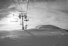 Alps, ski lifts (2.6 m views ! https://society6.com) Tags: 2017 alpes arcs1800 décembre2017 france noel2017 best blackwhite landscape photo snow top trave vacances