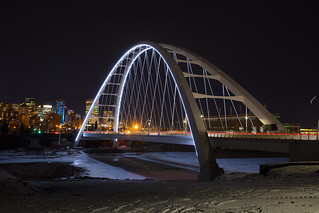 Walterdale Bridge Evening