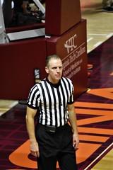 MIKE EADES (SneakinDeacon) Tags: acc vt vatech hokies virginiatech cassellcoliseum referees basketball bigsouth radford highlanders