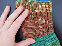 helix3 (Horosho.Gromko.) Tags: knitting socks sockknitting handmade helix вязание рукоделие вязаныеноски hand рука
