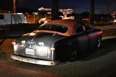 Mooneyes X-Mas Party 2017 (USautos98) Tags: 1949 1950 ford shoebox leadsled hotrod streetrod custom rockabilly
