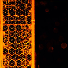 Honeycombs Reflected... (Silke Klimesch) Tags: macromonday litbycandlelight mm hmm happymacromonday macro closeup reflector reflektor réflecteur refletor combs honeycombs wabe honigwabe rayondemiel panal fagure tealight candle teelicht bougie bokeh orange makrofotografie nahaufnahme olympus omd em5 mzuikodigitaled60mm128macro microfourthirds on1 on1photoraw2018