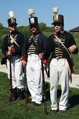 U.S. Soldiers, War of 1812 (Itinerant Wanderer) Tags: ohio woodcounty perrysburg fortmeigs warof1812 reenactors