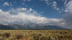 Grand Teton Range (string_bass_dave) Tags: usa grandteton landscape wy nationalpark grandtetonnationalpark unitedstates clouds flickr wyoming jackson us