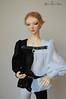 Bard outfit (Misty Valley Dolls) Tags: elf modded doll bjdoll bjd abjd abjdoll souldoll blackandwhite handmade