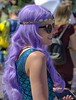 At The Mermaid Parade (Scott 97006) Tags: purple wig woman female lady costume mwermaid sales shades pretty