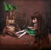 A gruff laugh (pure_embers) Tags: pure embers pullip doll dolls mai pureembers girl uk embersmai custom mandrake forest story book laura england plastic dark