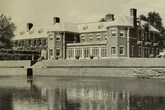Allerton House, Monticello, IL 1951 (RLWisegarver) Tags: piatt county history monticello illinois usa il