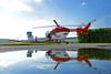 Einsatzbereit: die Mannheimer Luftretter im Juli 2017 (Foto Stefanie Buder) (DRF Luftrettung) Tags: hubschrauber stationmannheim christoph53 luftrettung drfluftrettung bk117