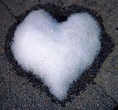 Jääsydän - Ice Heart (Versacrum) Tags: suomi finland summer kesä ice heart melting asphalt urjala