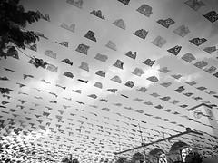 Banderines al viento (L0rD @Draa$ D3 R3gI|) Tags: thedarkside urbano dia pueblo tizimín