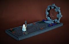 Portal (adde51) Tags: adde51 lego moc portal technique plastic bag plasticbag stonework stone priest shaman
