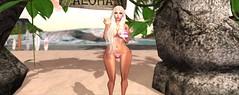 Aloha (Gabbi.Lexenstar) Tags: firestorm secondlife firestormsecondliferedportraitlatexlexenstargabriellastockingspinksexywomanseductiveboobstitsslutwhoreeroticlingerieblondbustyarseassbarbiec beach bikini red portrait latex lexenstar gabriella stockings pink sexy woman seductive boobs tits slut whore erotic lingerie blond busty arse ass barbie curvy beauty babe beautiful girl shadow naked sex sl virtual 3d virtualworld winter naughty babygirl breasts house lust sand sun