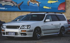 Nissan Stagea RS4 with over 300HP (jasonwilloughby88) Tags: nissan stagea car meets