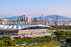 city view (gwnam.2008) Tags: city skyline cityskyline cityscape urban landscape stadium scenery beautiful view perspective mountain green greenery color forest park building office mapogu 마포구 상암동 sangamdong 월드컵경기장 상암구장 seoul