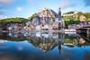 Dinant (fernando_gm) Tags: dinant belgica colour color reflection reflejo reflejos agua azul blue water landscape paisaje travel trip traveling turismo tourism travelling turism fujifilm fuji 1024mm xt1 belgium