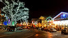 Christmas in Leavenworth, Washington (Nikki Cleveland) Tags: road night sky building store storefront car cars christmas christmaseve holiday leavenworthwashington village festive flickr washingtonstate christmasvillage nightphotography postcard phonephotography
