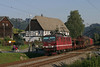 DB 180 009 + freight train/Güterzug - Rathen (Rene_Potsdam) Tags: rathen sächsische schweiz br180 railroad deutsche bahn