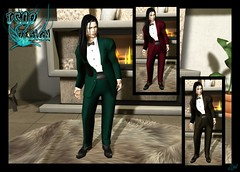 Bow Tie Costume - Johnas (syddarkaless) Tags: tcod design mesh blow tie costume johnas hud textures