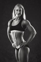 Hanna (Thomas Ohlsson Photography) Tags: blackunderwear bodybuilding ck calvinklein fitness fitnessmodel hannamattisson lomma muscle pentaxk3ii smcpentaxfa77mmf18limited strong strongwoman studio thomasohlssonphotography thomasohlssoncom skånelän sweden