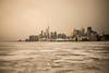 Toronto,Lake Ontario (SONICGREGU) Tags: nikond610 nikon toronto downtown cntower december winter ontario canada lakeontario frozenlakeontario