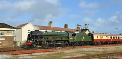 Littlehampton Royal Scot (davids pix) Tags: 46100 royal scot preserved lmsr steam locomotive rebuilt littlehampton station bognor belle railtour 2017 21102017