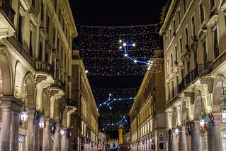 Via Roma, Luci d'Artista