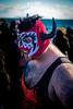 PolarBearPlunge2018-7(NY) (bigbuddy1988) Tags: people portrait photography red new usa brooklyn sky blue nikon d800 festival newyork coneyisland polarbearplunge mask costume