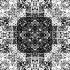 0978915650 (michaelpeditto) Tags: art symmetry carpet tile design geometry computer generated black white pattern
