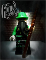 Mi, The Riddler, Gotham By Gaslight (LegoKlyph) Tags: lego custom batman brick block mini figure riddler mi puzzles clues gotham gaslight steampunk victorian 1800s comic book dc
