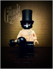 The Bane, Gotham By Gaslight (LegoKlyph) Tags: lwgo custom figure mini brick block venom bane batman gotham gaslight steampunk victorian strongman strong dc comic books