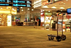 Pick me, please.. (Andy Laver) Tags: changi singapore sq airport transit trolley travel solo stranded delayed nikon d80
