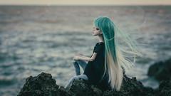 Sierra and the sea (Ilweranta) Tags: doll bjd abjd msd dim dollinmind laia dollleaves sea