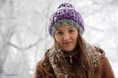 Snow 1 (Ineke Klaassen) Tags: snow sneeuw portrait lizafoppen portret portretfotografie portraitphotography sony sonyimages sonya6000 sonyalpha sonyalpha6000 sonyilce6000 schnee daughter dochter nijmegen geologenstrook winter winterwonderland 35faves