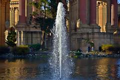 PFA Fountain HDR (TheseusPhoto) Tags: sanfrancisco sanfran sf wanderlust architecture roman palaceoffinearts bayarea pillar pillars water lake pond fountain