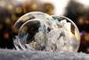 frozen bubble group (marianna_a.) Tags: p1650003 frozen bubbles soap fragile thin transparent seethrough ice crystals macro bunch group snow lights bokeh mariannaarmata montreal canada