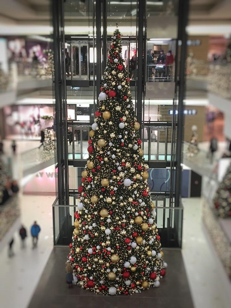 Weihnachtsbaum deko wien