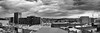 Dance of the Cranes (Keith Midson) Tags: hobart tasmania panorama skyline sigma dp2m merrill