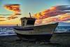 Barca y nubes (zapicaña) Tags: barca boat barco nubes clouds cabodegata almeria andalucia mar cielo sea sky mediterráneo españa spain sur south paisaje pesca landscape