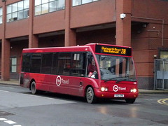 TM Travel 430 Sheffield (Guy Arab UF) Tags: tm travel 430 x612erb optare solo m920 bus pond street sheffield wellglade buses wellgladegroup trent barton