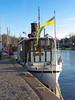 Stockholm Strandvägen (Stefan Sjogren) Tags: stockholm ship steam engine strandvägen sightseeing water queue sky flag