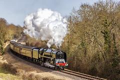 WSR_2010_03_21_095 (Phil_the_photter) Tags: steam steamengine steamloco steamrailway steamgala wsr westsomersetrailway washfordbank 8p 71000 dukeofgloucester