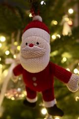 Day 359. Santa's flying visit. (Rob Emes) Tags: closeup hanging decoration decorate tree christmas santa g7xii canon 3652017 365 dec2017
