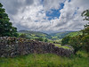 Swaledale, Yorkshire Dales (Bruce Clarke) Tags: yorkshiredales olympus landscape 43 swaledale outdoor whitasidemoor zd1260mm e520 clouds trees drystonewall wideangle fields showery hilly summer woods