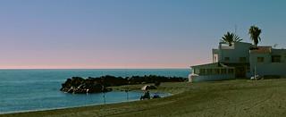 Playa de Poniente en Torre del Mar